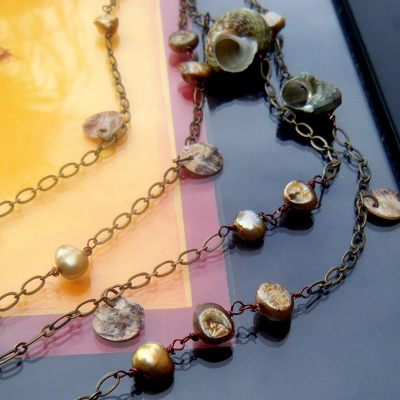 Extra Long FreshWater Pearl Necklace