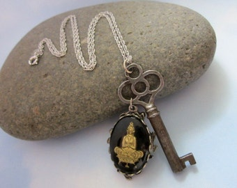Key to Serenity Necklace