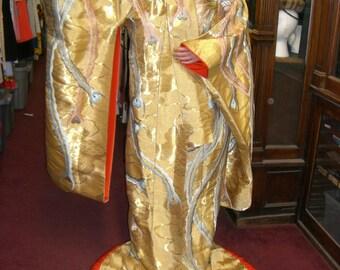 Japanese Wedding Kimono 1974