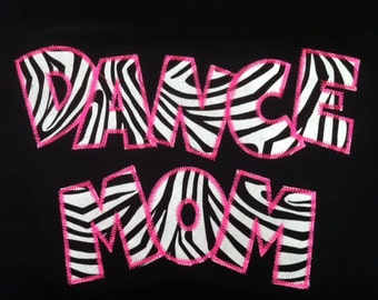 Personalized Dance Mom Shirt