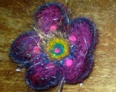 RESERVED - DESERT FLOWERS - needle felted appliques