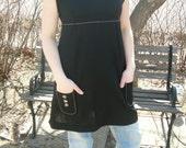 SALE  Vintage Black dress/top