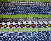 Vintage funky 60s fabric