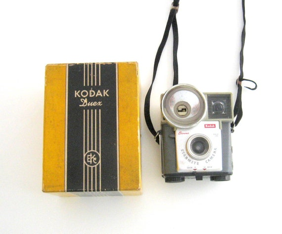 Kodak Duex Camera-Box  -Vintage