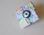 Eco-Chic Map Pin in Pastels