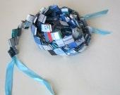 Super DIY Woven Paper Garland - How to Make - Tutorial - Make Your Own Garland PDF Plus Bonus Bracelet Tutorial