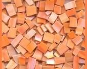 Mosaic Tile OH SHERBERT Orange Stained Glass 200 pcs mosaic Tiles