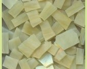 """Mosaic Tiles CREAMY MIX 1/2 - 1"""" Stained Glass 50 pcs MosaIc Tile"""