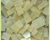 """Mosaic Tiles CREAMY MIX 100 pcs 1/2-1"""" Stained Glass Mosaic Tile"""