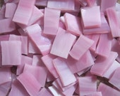 Mosaic Tiles PINK PASSION Handcut Stained Glass 25 pcs Mosaic Tile