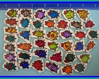Mosaic Tiles SILLY MINI FISH Mosaic Tile
