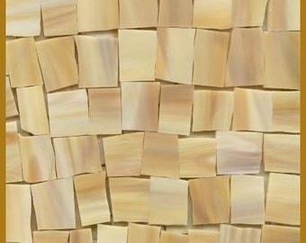 Mosaic Tile LIGHT n WOODY Tiles Stained Glass 25 pcs