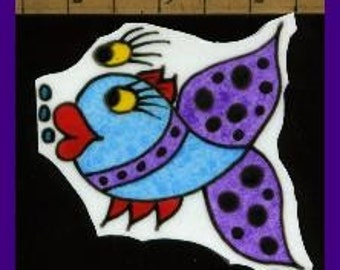 Mosaic Tile DOODLE FISH Mosaic Tiles