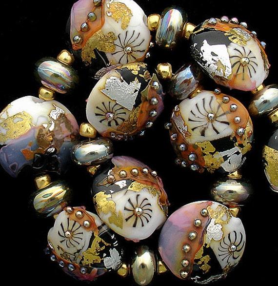 DSG Beads Handmade Organic Lampwork Glass Made To Order (Regency)