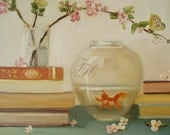The Goldfish And The Butterfly- Open Edition Print