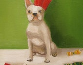 Mathilda's Christmas Crackers- Single Christmas Card