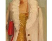 Portrait- French Girl- Art Print
