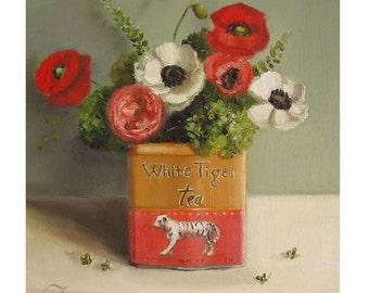 Still Life- White Tiger Tea- Art Print