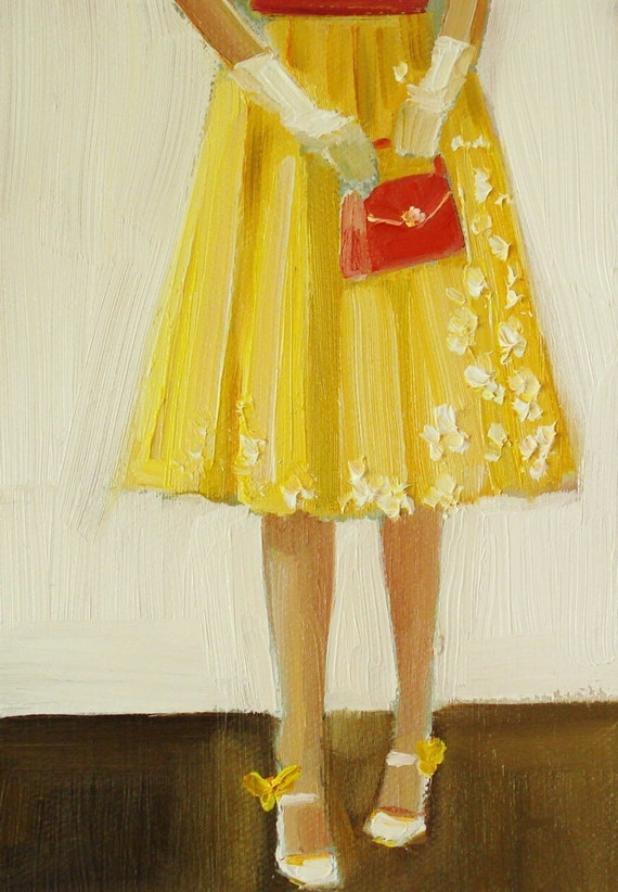 She Liked To Call Them Her Canary Shoes- Open Edition Print