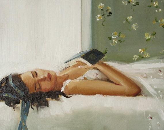 Beauty Sleeps- Art Print