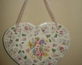 China Heart Mosaic - Reduced Shipping - CANADA/USA