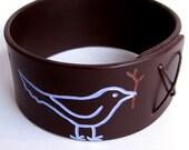 Bluebird Bracelet Bangle Bracelet -Large