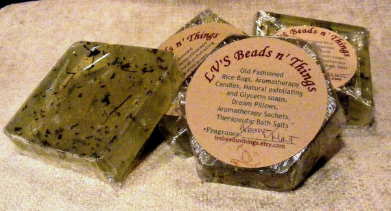 Hemp Soap with Mint
