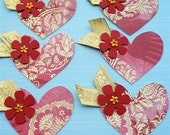 Ickle heartlets - Sara design