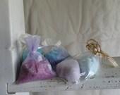 Lavendar Bath Salt and Bath Bomb Set - Made by Mark