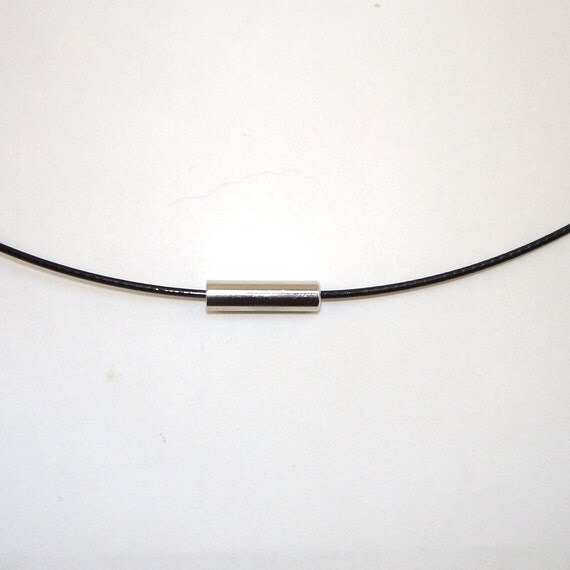 Wholesale lot - 10 pieces - 18 INCH BLACK NECKLACE CABLE WITH NICKEL FREE MAGNETIC CLASP