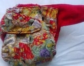 AIO cloth diaper medium 11 - 22lbs All In One veggies vegetables - BumbleBeeBottomsBoutique