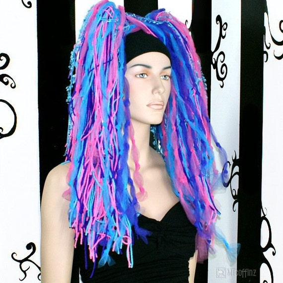 Candy Floss Fringe Knotty Cyber Dreads
