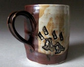Small Porcelain Mug with Musical Chirping Birds