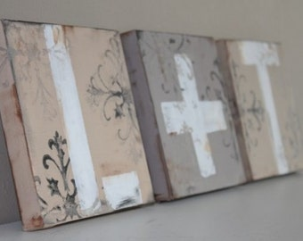 Letter Canvases- Classic- Featured on HGTV