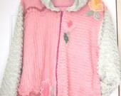Recycled Vintage Chenille Jacket/Hoodie