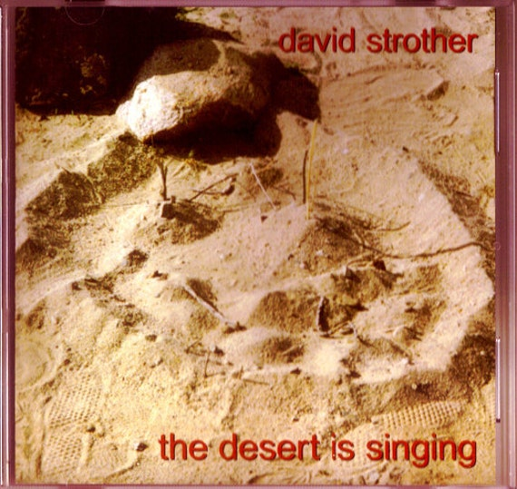 DAVID STROTHER, The Desert Is Singing, Electric Violin, Original Music, Amazing