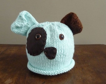 NEW - Infant Puppy Dog Hat