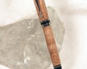 Handmade Maple Burl Americana Style Pen