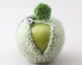 Apple Jacket-Seaspray Mist with Panda's Button