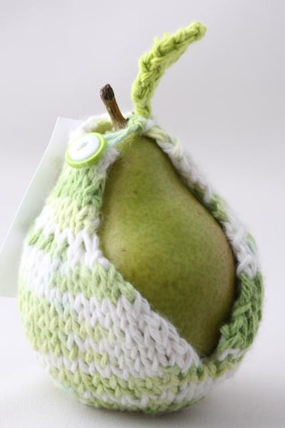 Pear Jacket - Multi with Lime Green and White buttons