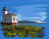 Fabric Bandon Lighthouse Exclusive design