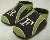 Monogrammed Sport (3 Colors - Your Choice) - Soft Sole Baby Shoes