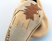 Wheat Baby Lion Leather Moks Sz 12-18M - scandeez