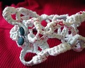 Reserved Crochet Plastic Collar