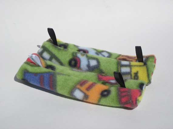 Wheels on the Bus CPAP strap cushions Say NO to strapface