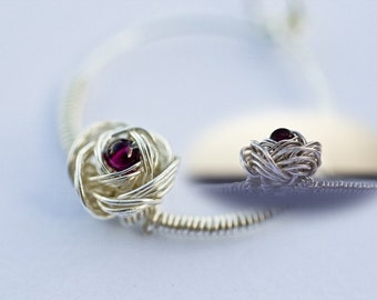 Wire Jewelry Tutorial - Rose Pendant, Wired Chinese Knot, DCH017, The Love Knot