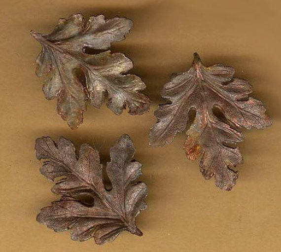 vintage leaves articulated patina steel rust jewelry making inspiration scrapbook patina ox