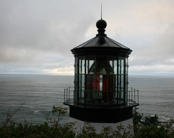Cape Mears - Lighthouse, Oregon - 5x7 Fine Art Photograph
