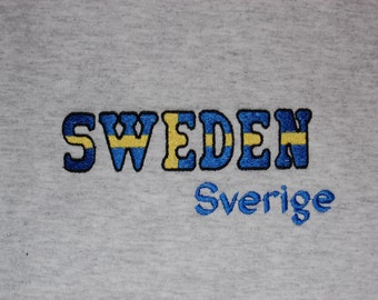 Swedish Flag Sweatshirt