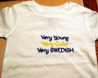 Swedish Baby Shirt